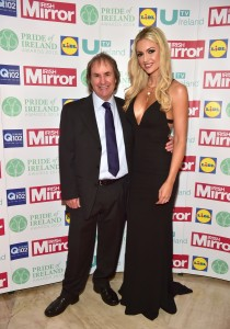 Chris De Burgh and Rosanna Davison