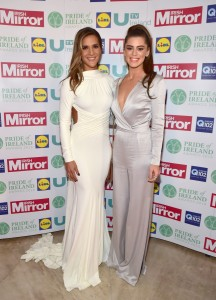 Amanda Byram and Aoibhinn McGinnity