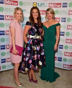 Claire Brock, Alison Comyn and Jenny Buckley, UTV Ireland