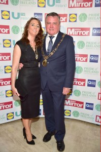 Lord Mayor Brendan Carr and Lord Mayoress Suzanne Carr